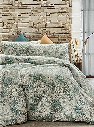 Colors Couture Bettdecke und Kissenbezug Firuze