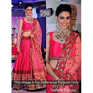 Fashion Founder Genelia Lehenga - Pink