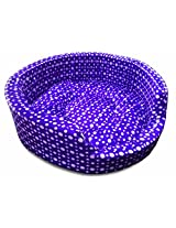 Dog Bed Medium in Purple