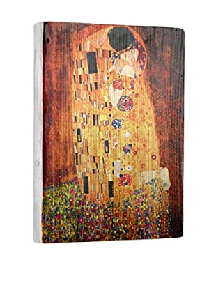 Artehouse The Kiss Reclaimed Wood Sign