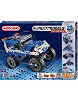 Meccano-Erector - Multimodel - 25 Model Motorized Set - Off-Road Vehicle