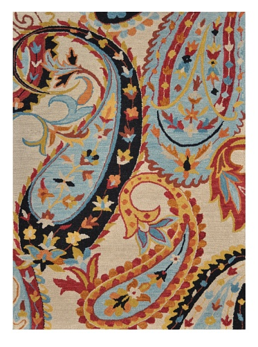 Loloi Rugs Serendipity Collection Rug (Ivory/Blue)