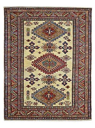 Kalaty One-of-a-Kind Kazak Rug, Beige, 3' 11