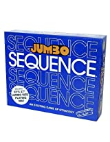 Jumbo Sequence Board Game Includes Bonus Deck Of Cards!