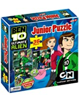 Ben 10 Ultimate Alien Junior Puzzle