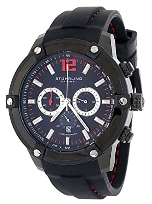 STÜRLING ORIGINAL 268.33561 - Reloj de Caballero movimiento de cuarzo con correa de silicona