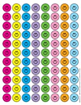 Eureka Smile Faces Stickers, Small