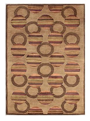 Mili Designs NYC Casablanca Patterned Rug, Tan/Multi, 5' x 8'