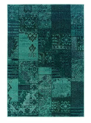 Granville Rugs Vintage Rug (Teal)