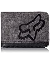 Fox Men's Cramped Wallet, Black, One Size