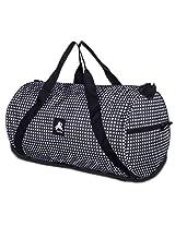 PinStar Black and White Square Endura Gym Duffle Bag