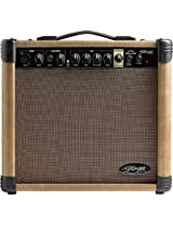 Stagg 20 AA R 20 Watt RMS Acoustic Guitar Amplifier with Spring Reverb