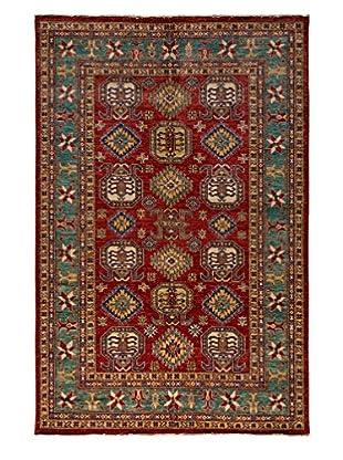 Darya Rugs Fine Kazak Oriental Rug, Red, 8' 10