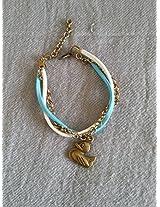 Knickknack Cute Duck Charmed Bracelet
