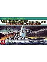 Dragon 7125 1/700 Model Ship Bismarck Sank Swordfish