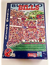 Fandemonium! Buffalo Bills Jigsaw Puzzle , 513 Pieces 21 1/4
