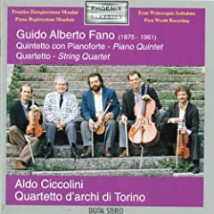 Fano;Piano Quintet/String Q