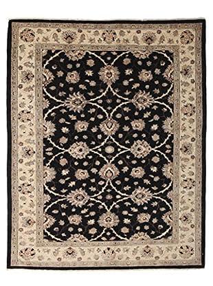 Darya Rugs Oushak Oriental Rug, Black, 5' 7
