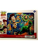 Disney Pixar Cars & Toy Story 16 Piece Puzzle Set/Bundle ~ 2 Puzzles