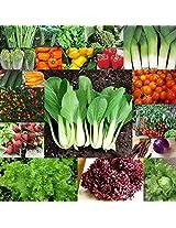 Exotic Vegetable Seeds (Pack of 19 Varieties Seeds)