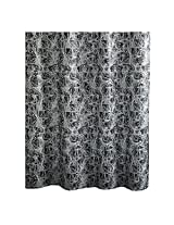 Ex-Cell Constellation Fabric Shower Curtain, 70 by 72-Inch