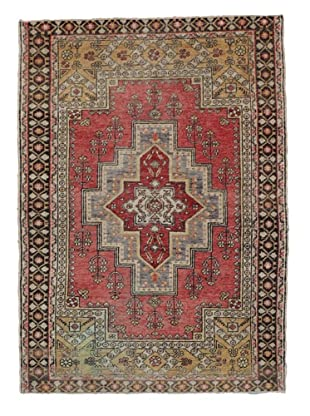 Momeni One of Kind Vintage Authentic Turkish Anatolian Rug, 4'3