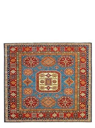 Kalaty One-of-a-Kind Kazak Rug, Blue, 6' 6