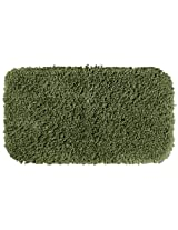 Garland Rug Serendipity Shaggy Washable Nylon Rug, 30-Inch by 50-Inch, Deep Fern