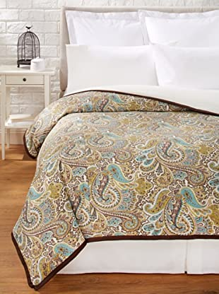 Chateau Blanc Paisley Duvet Cover (Chocolate)