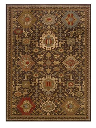 Granville Rugs Alahambra Rug (Brown/Copper/Multi)