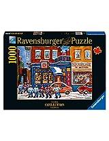 Ravensburger St. Viateur Bagel&Hockey Canadian Collection Canadienne Puzzle (1000-Piece)