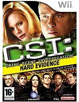 CSI Hard Evidence (Nintendo Wii) (NTSC)