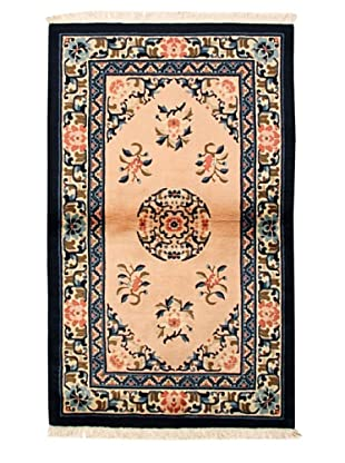 Roubini Chinese Antique Finish Rug, Peach/Pink/Navy, 3' 2