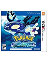 Pokemon Alpha Sapphire (Nintendo 3DS) (NTSC) In Stock!! Limited Stock!!