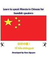 Learn to Speak Mandarin Chinese for Swedish Speakers