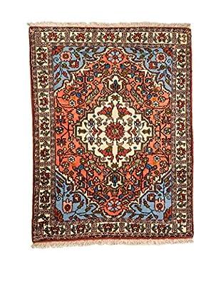 RugSense Alfombra Persian Ardebil Fondo Pura Seta Azul/Multicolor