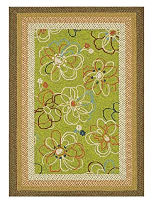 Zamora Indoor/Outdoor Rug (Lime)