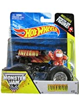 Mattel Hot Wheels - Monster Jam - 2014 Off-Road - 1:64 Scale - Inferno (Includes Monster Jam Figure)