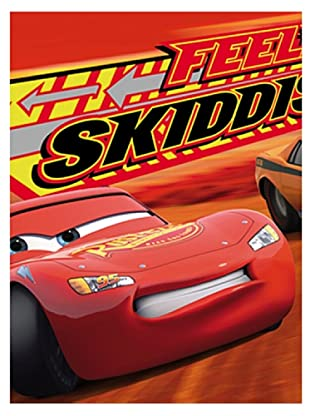 Disney Home Telo Bagno Cars (Rosso)