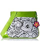 Wild Republic do it Yourself Octopus Turtle Purse, White/Green