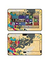 Decalrus - Matte Protective Decal Skin skins Sticker for Dell Latitude 10 Tablet with 10.1 screen (IMPORTANT: Must view IDENTIFY image for correct model) case cover Latitude10-142