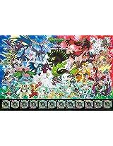 Ensky Pokemon XY 2015 Calendar Jigsaw Puzzle (500-Piece), Large