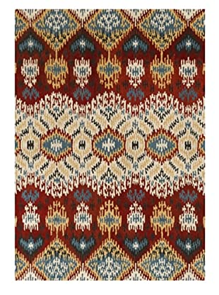 Loloi Rugs Leyda Rug (Red/Multi)