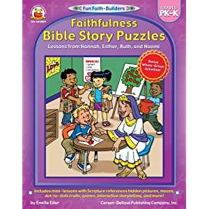 Faithfulness Bible Story Puzzles (Fun Faith-Builders)