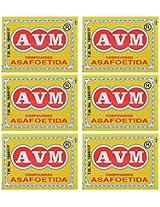 AVM Compounded Asafoetida Cake, 25 grams (Pack of 6)