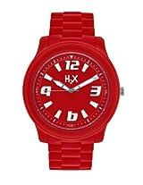 H2X Splash Analog Red Dial Unisex watch - SR381XR1