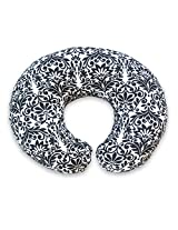 Boppy Nursing Pillow and Positioner, Brocade Black and White