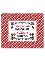 Lovely Collection I Am Completely In Love With You Mousepad