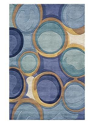 Momeni Circles Rug (Blue)