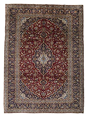 Darya Rugs Authentic Persian Rug, Red, 10' x 14'